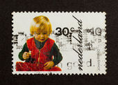 HOLLAND - CIRCA 1970: Stamp printed in the Netherlands — Photo