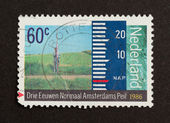 HOLLAND - CIRCA 1980: Stamp printed in the Netherlands — Stockfoto