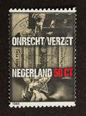 荷兰-1970 年左右: 邮票印在荷兰 — 图库照片