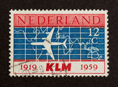 HOLLAND - CIRCA 1950: Stamp printed in the Netherlands — Photo