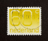 HOLLAND - CIRCA 1990: Stamp printed in the Netherlands — Stok fotoğraf