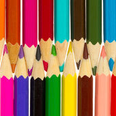 Many different color pencils — Stock Photo