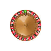 Used roulette wheel and ball — Foto de Stock