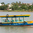Tourist boat in Hoi An, Vietnam — Stock Photo