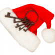 Santas hat — Stock Photo