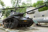 Old M41 tank on display — Stock Photo