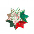 Butcher's broom, christmas decoration, isolated — Stock fotografie