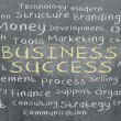 Business word cloud written — Stock Photo