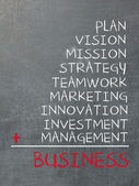 Concept of business — Photo