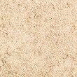 Close up of industrial white sand — Stock Photo