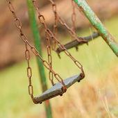 Closeup of swings — Stock Photo