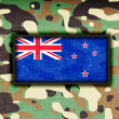 Amy camouflage uniform, New Zealand — Foto de Stock