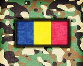 Amy camouflage uniform, Roemenië — Stockfoto