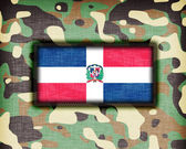 Amy camouflage uniform, The Dominican Republic — Stock Photo