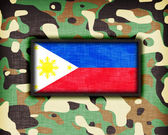 Amy camouflage uniform, The Philippines — Stockfoto