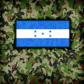 Amy camouflage uniform, Honduras — Foto de Stock