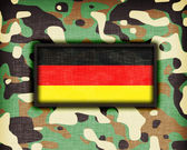 Amy camouflage uniform, Germany — Stock Photo