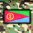 Amy camouflage uniform, Eritrea — Stock Photo