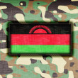 Amy camouflage uniform, Malawi — Stock Photo