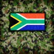 Amy camouflage uniform, South Africa — Stock Photo