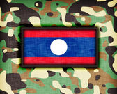 Amy camouflage uniform, Laos — Stock fotografie