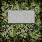 Amy camouflage uniform — Foto de Stock