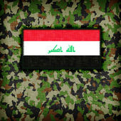 Amy camouflage uniform, irak — Stockfoto