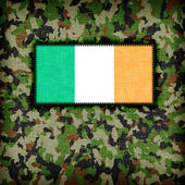 Amy camouflage uniform, Ireland — Stock Photo