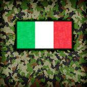 Amy camouflage uniform, Italy — Stock Photo