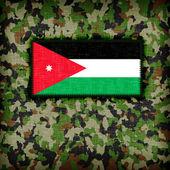 Amy camouflage uniform, Jordan — Zdjęcie stockowe