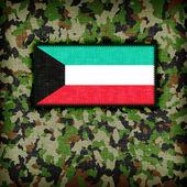 Amy camouflage uniform, Kuwait — Stock Photo