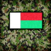 Amy camouflage uniform, Madagascar — Zdjęcie stockowe