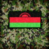 Amy kamouflage uniform, malawi — Stockfoto