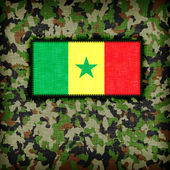 Amy camouflage uniform, Senegal — Foto de Stock
