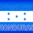 Flag of Honduras — Stock Photo