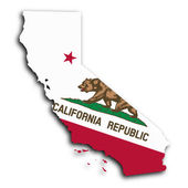 Map of California — Stock Photo