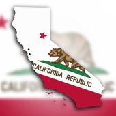 Map of California — Stock Photo