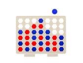 Bingo, line-up 4 isolated — Stock Photo