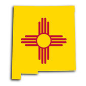 Map of New Mexico — Stock Photo