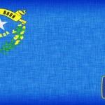 pościel flaga USA stanie nevada — Zdjęcie stockowe