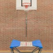 Interior of a gym at school - Stock Photo