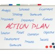 Action Plan word cloud — Stock Photo #25236957