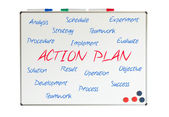 Action Plan word cloud — Stock Photo