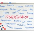 Trademark word cloud — Stock Photo #25347275