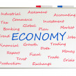 Economy word cloud — Stock Photo #25563645