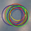 Hula-hoops — Stock Photo