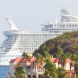 PHILIPSBURG, ST. MAARTEN-JULY 25 Royal Caribbean,Allure of the S — Stock Photo