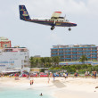 Stock Photo: PRINCESS JULIANA AIRPORT, ST MAARTEN - July 19, 2013: Airplane l
