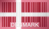 Barcode flag — Stock Photo