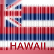 Stock Photo: Barcode flag